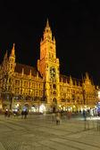 Stadshuset i münchen, tyskland — Stockfoto