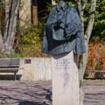 Постер, плакат: Statue of Cranach in Kronach Germany