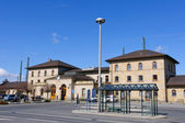 Lichtenfels train station, Germany — Stock Photo