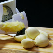 Royalty-Free Stock Photo: Pureed Garlic