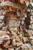 Old brick wall architectural background texture — Stock Photo