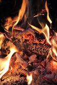 Big Fire Background — Stock Photo
