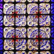 Stock Photo: Color stained glass