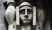 Face of goddess Hera (Latin: Juno) — Stock Photo