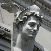 Hermes (lateinisch: Mercurius) — Stockfoto