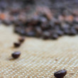 Stock Photo: Coffe beans