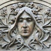 Face of goddess Hera — Stock Photo