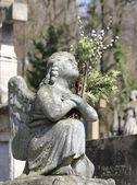 Figure d'un ange priant — Photo