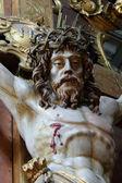 Holy cross with crucified Jesus Christ — Stock Photo