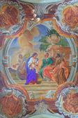 Aziz peter ve paul xvii yüzyıl bar kilisesi'nin iç — Stok fotoğraf