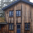 Wooden House in Norway — Stock Photo