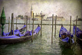 Old Painting Style Venice — Stock Photo