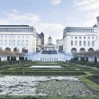 The Kunstberg park, Brussels - Stock Photo