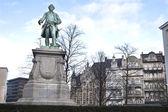 Brussels Hero Statue — Stock Photo
