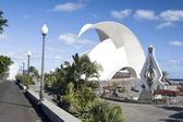 Auditorium, Santa Cruz de Tenerife — Stock Photo