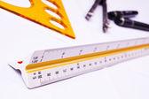Arkitektur bygga verktyg — Stockfoto