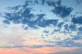 Сloudy sky — Stok fotoğraf