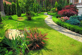 Landscape design — Stock Photo