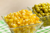 Corn and peas — Foto de Stock