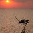 Stock Photo: Fishing rig