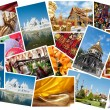 Stock Photo: Thailand postcard montage