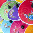Colorful umbrella's - Stock Photo