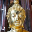 Gold Buddha - Stock Photo