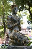 Buddhist temple figure — Stock Photo