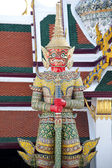 Temple Guard — Stock Photo