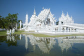 White Temple Chiang Rai Thailand — Stock Photo