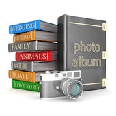 Photo album — Stock Photo
