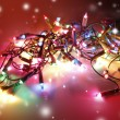 Christmas lights - Stock Photo