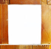 Old wooden frame. Copy space — Stock Photo
