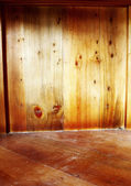 Wooden room — Foto de Stock