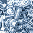 Nuts and bolts — Foto de stock #8423246