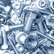 Nuts and bolts — Stock Photo #8423246