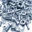 Nuts and bolts — Foto de stock #8859264