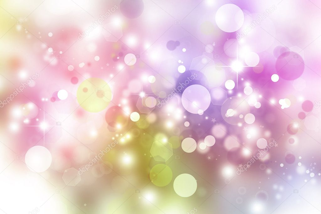 White circles and stars abstract background — Stock Photo #9120323