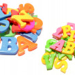 Stock Photo: Alphabet letters