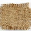 Stock Photo: Burlap piece