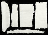 Zerrissenes papier — Stockfoto