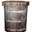 Stock Photo: Old Wood Bin