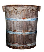 Old Wood Bin — Stock Photo