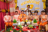 Cambodian Bride and Groom — Stock Photo