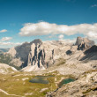 Dolomites panorama — Stock Photo