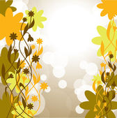 Abstract Floral Background. Vector Eps10 Format. — Stock Vector