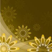 Abstrakt floral bakgrund. eps10 vektorformat. — Stockvektor