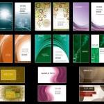Business Card Templates. Vector Design. — Stock Vector
