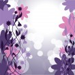Flowers. Abstract Background. Vector Eps10 Format. - 图库矢量图片