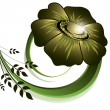 Flower. Abstract Background. Vector Eps10 Format. - 图库矢量图片